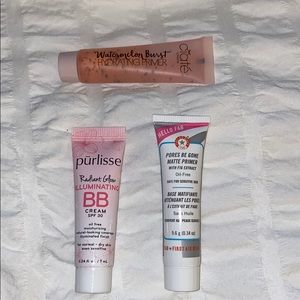 Primer and BB cream with SPF bundle